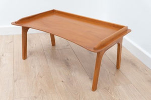 Mid Century Blonde Wood Danish Style Breakfast Bed Foldaway Tray FREE DELIVERY