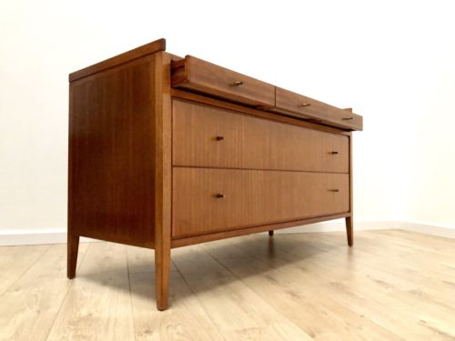 Mid Century Gordon Russell Vintage Teak Sideboard Chest Of Drawers Heals