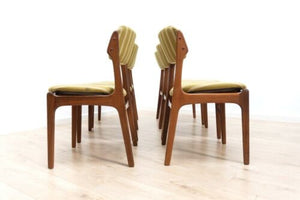 Set 6 Erik Buch Mid Century Vintage Danish Rosewood Dining Chairs Model 49 /922
