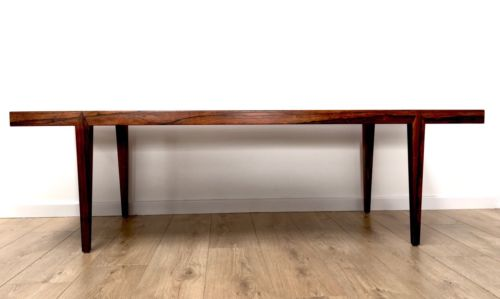 Rare Mid Century Danish Rosewood Royal Copenhagen Fajance Tiled Top Coffee Table