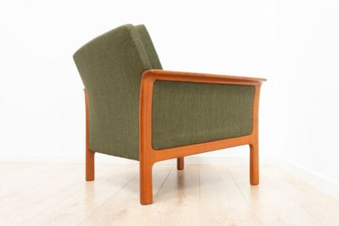 Swedish Broderna Andersson Armchair Vintage Teak Lounge Chair 1950's /1424