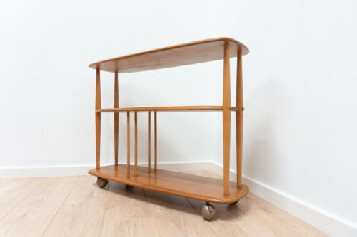 Mid Century Vintage Ercol Bookcase Trolley 1960's /1272