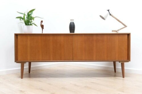 Mid Century Vintage Teak G Plan Long & Low Sideboard TV Media Console /780