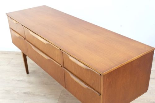 Superb Mid Century Vintage Teak Sideboard Console Drawer Unit 1960's /371
