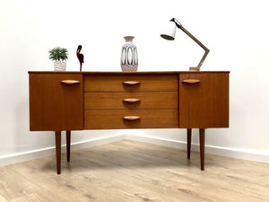 Superb Mid Century Vintage Retro Teak Sideboard with Drawers 1960's