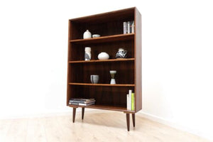 Stunning Mid Century Vintage Danish Rosewood Tall Bookcase Shelving /597