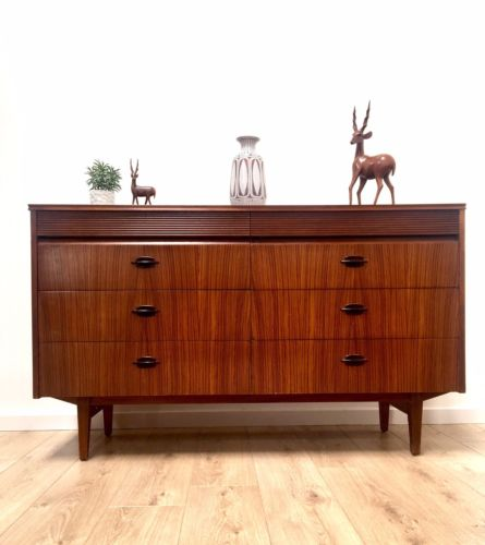 Superb Mid Century Vintage Retro Teak Sideboard Drawers By Elliott's Of Newbury