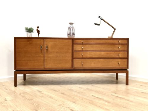 Superb Mid Century Vintage Teak Greaves & Thomas Sideboard with Drawers 1960's