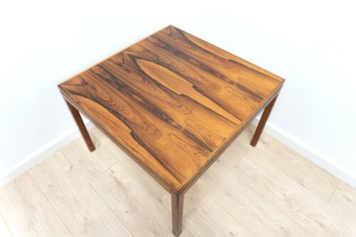 Mid Century Swedish HMB Mobler Vintage Rosewood Coffee Table Sofa Table /1314