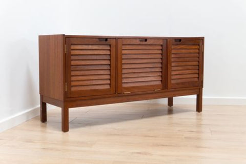 Mid Century Vintage Teak McIntosh Low Sideboard TV Unit Vinyl Record Console