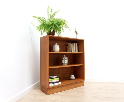 Superb Mid Century Vintage Retro G Plan Teak Small Bookcase Shelving Unit /900