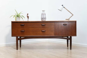 Mid Century Vintage Teak 1960's G Plan E Gomme Low Sideboard Console /508