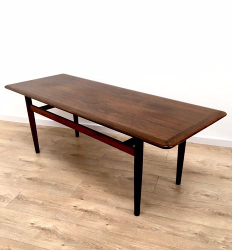 Retro Vintage Mid Century Danish Rosewood Coffee Table By Jason Mobler ...