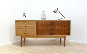 Rare Mid Century Vintage Rosewood Archie Shine For Robert Heritage Sideboard