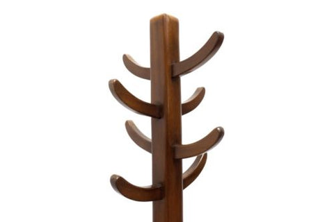 Mid Century Vintage Teak Cactus Coat Stand By Abbess 1950s /332