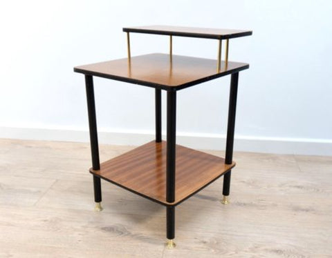 Stylish Mid Century Vintage Teak Side Hall Table Nightstand G Plan Style /507