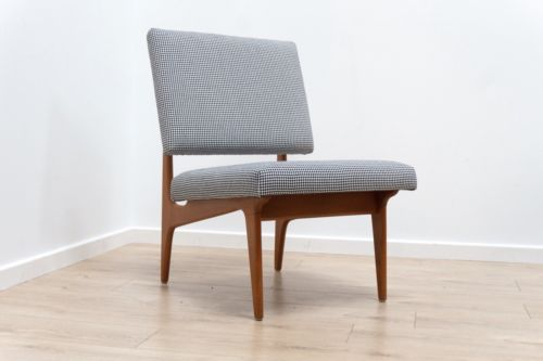 Stunning Mid Century Swedish Vintage Teak Armchair Lounge Chair 1950s /307