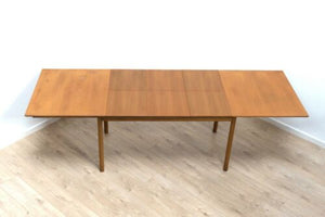 Midcentury Vintage Teak Extending Dining Table Morris Of Glasgow 1960's/1583