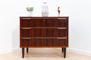 Superb Mid Century Vintage Danish Rosewood Chest Of Drawers /180