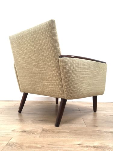 ... Mid Century Vintage Danish Armchair Lounge Chair Rosewood Arms And Legs  ...