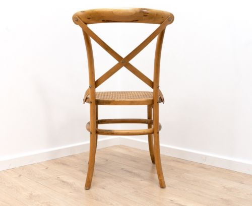 Stylish Mid Century Vintage Thonet Bentwood Yew Occasional Chair