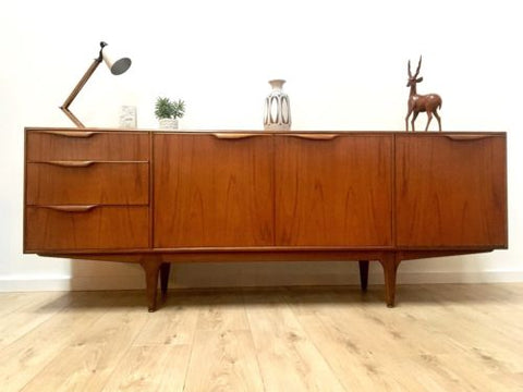 Superb Mid Century Teak Mcintosh Dunvegan Sideboard Drinks Cabinet Heals