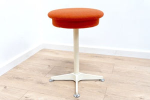 Funky Mid Century Vintage Retro Modernist Bedroom Stool 1960's /324