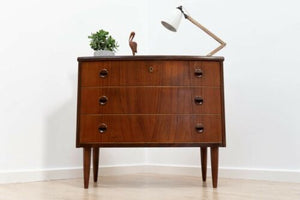 Mid Century Vintage Danish Rosewood Kai Kristiansen Chest Of Drawers /559