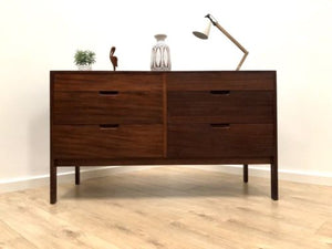 Mid Century Vintage Teak Richard Hornby For Heals Chest Of Drawers Sideboard