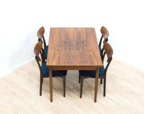 Stunning Mid Century Danish Vintage Rosewood Extending Dining Table /1083