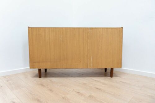 Rare Mid Century Vintage Danish Teak Chest of 8 Drawers Sideboard /1019