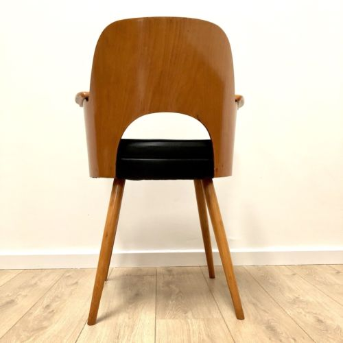 Superb Mid Century Vintage Bentwood Desk Office Chair Thonet Style 1960's