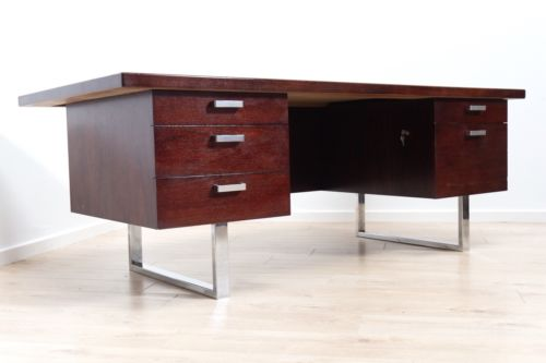 Mid Century Vintage Executive Rosewood Desk Trevor Chinn Gordon Russell /199