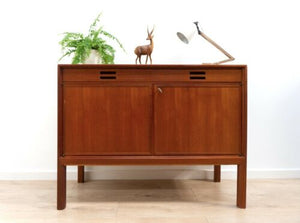 Midcentury Bodafores Teak Sideboard Swedish Vintage Storage Unit 1960's /1434