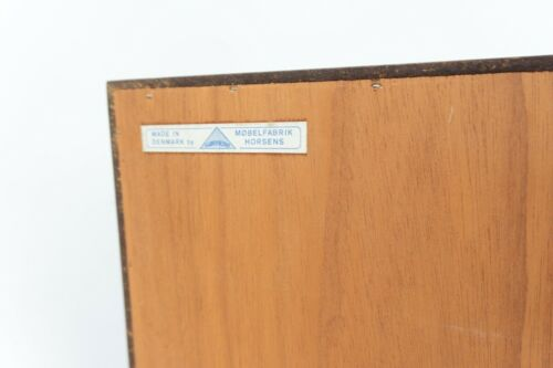 Mid Century Vintage Danish Horsens Mobler Rosewood Chest Of Drawers /1390