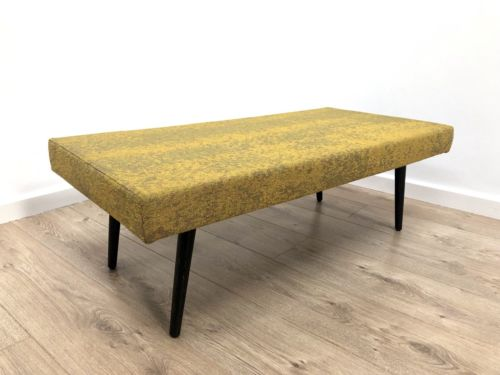 Mid Century Retro Modernist Footstool Ottoman Coffee Table 1960's