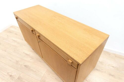 Mid Century Vintage Blonde Swedish Oak Ulferts Small Sideboard With Drawers /746
