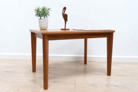 Mid Century Danish Teak Trioh Coffee Table Side Table 1960's /379