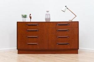 Mid Century Vintage G Plan Fresco Teak Chest of 8 Drawers Sideboard 1960's /108
