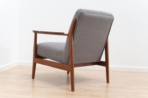 Mid Century Danish Vintage Teak Armchair Lounge Chair 1950's /107