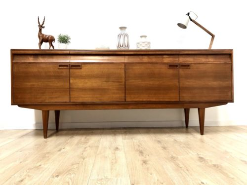Rare And Stunning Mid Century Vintage Alfred Cox Sideboard For Heals 1960's