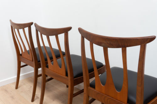 Superb Set Of 6 Vintage Teak G Plan Brazilia Danish Design Dining Chairs