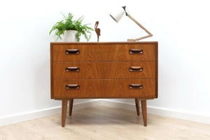 Mid Century Vintage Teak G Plan E Gomme Chest Of Drawers 1960's /1277