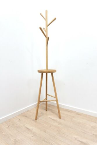 Minimalist Habitat Twiggy Oak Hall Coat Stand /1274