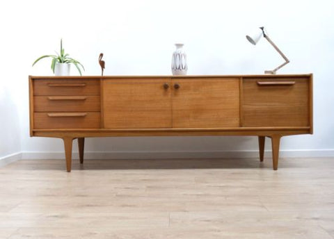 Rare Mid Century Vintage Teak Younger Sideboard Credenza Drinks Cabinet /449