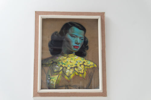 Original Mid Century Tretchikoff Framed & Signed Print 'Chinese Girl'