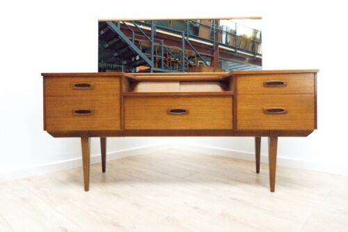 Midcentury Vintage Teak Dressing Table 1960's with Mirror /1472