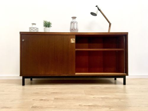 Mid Century Vintage Teak Modernist Sideboard TV Media Unit 1960's