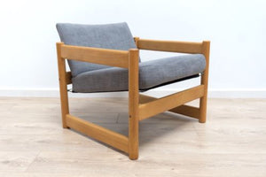 Mid Century Vintage Beech Campus Armchair By John Morton For Conran /114