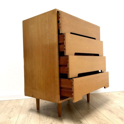 Mid Century Vintage Chest Of Drawers By John And Sylvia Reid For Stag